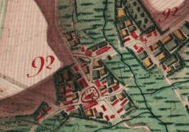 carte Ferrari établie entre 1770 et 1778